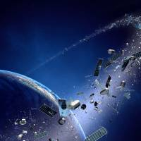 Space junk presents a clear and present danger