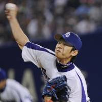 The Dragons' Takuya Asao has announced his intention to retire at the end of the season. | KYODO