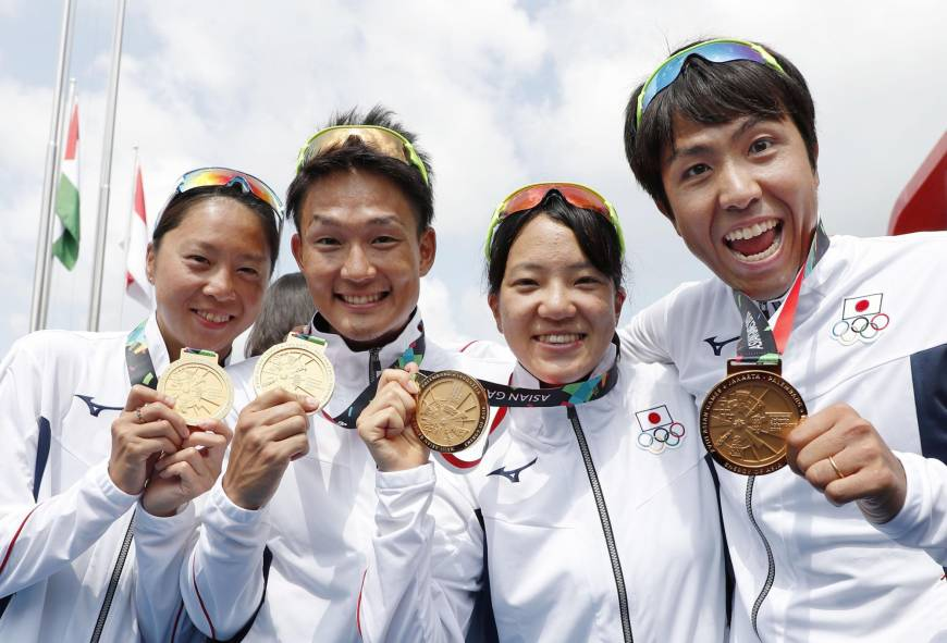 Japan wraps up Asian Games with gold medal