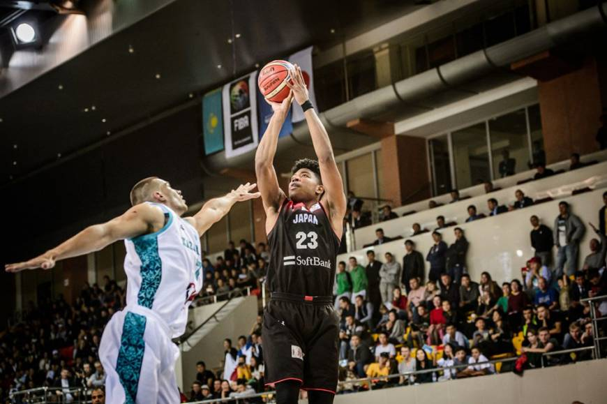 Rui Hachimura powers Japan in win over Kazakhstan