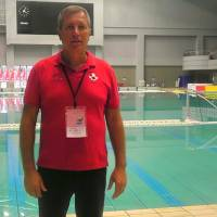 Canada coach Giuseppe 'Pino' Porzio, a legendary player and mentor, is one of the most respected figures in water polo. | ED ODEVEN
