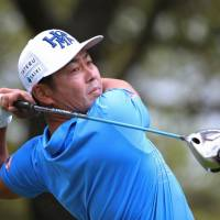 Hideto Tanihara cards 4-under 66 to take lead at midway point of European Masters