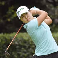 Nasa Hataoka finished in second place at the Japan Women's Open Championship with a 12-under 276 over four rounds. | KYODO