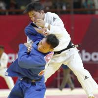 Japan judoka rout Kazakhstan to snatch gold in mixed team event