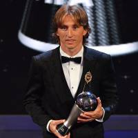 Luka Modric voted FIFA World Player of the Year