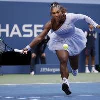 Serena punches quarterfinal ticket with win over Kanepi