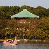 Ueno Park is home to a pond, zoo and many renowned museums. | GETTY IMAGES