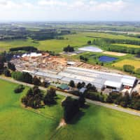 The Daiken production facility in Rangiora, New Zealand is recognized as the first medium-density fiberboard producer in the Southern Hemisphere. | © Daiken