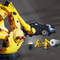 Fanuc has installed 550,000 industrial robots around the world. | © FANUC