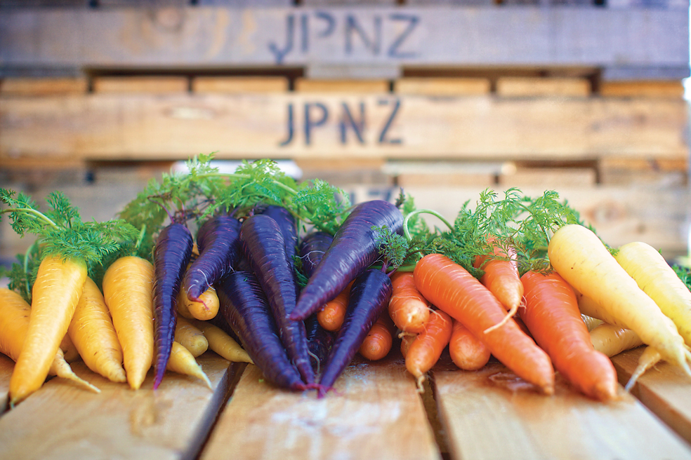 Carrots represent 90 percent of the company's production of concentrated juices. | © JP-NZ