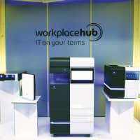 ​Workplace Hub combines leading hardware, software, security, and a full suite of services. | KONICA MINOLTA