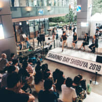 Sharing Day Shibuya 2018 held by the Sharing Economy Association, Japan, in September taught participants about the culture of sharing. | SHARING ECONOMY ASSOCIATION, JAPAN