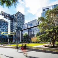 The prestigious buildings at Central Park, Sydney's modern urban downtown hub, are managed by PICA Group. | © PICA