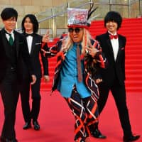The voice actors of 'King of Prism' and DJ Koo (second from right) | YOSHIAKI MIURA