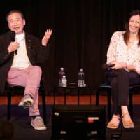 Haruki Murakami says good writing is what he can do to help people in times of trouble