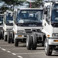 Isuzu Motors will enter talks with U.S. engine manufacturer Cummins Inc. on the joint development of more eco-friendly diesel engines. | BLOOMBERG