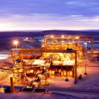 A copper mine in Chile's Centinela Mining District is one of many overseas projects Marubeni Corp. has invested in recently. | MARUBENI CORP.