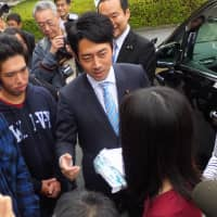Liberal Democratic Party lawmaker Shinjiro Koizumi is the public's top pick to be the next prime minister according to a recent poll. | BLOOMBERG