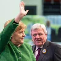 Angela Merkel's government braces for high-stakes election in Hesse state