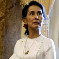 Nobel chief calls Aung San Suu Kyi's actions 'regrettable' but says she will keep peace prize