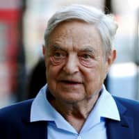 Explosive device found near home of George Soros: New York Times