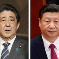 Prime Minister Shinzo Abe will visit China for three days from Oct. 25, with a bilateral summit with Chinese President Xi Jinping being planned for Oct. 26 in Beijing. | KYODO