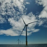 Under the government's long-term energy plan, Japan aims to reduce greenhouse gas emissions and have renewable energies become its major power sources. | BLOOMBERG