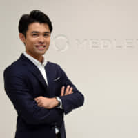 Goichiro Toyoda, co-CEO of Medley Inc., says the nation's health system cannot be sustained without big changes. | SATOKO KAWASAKI