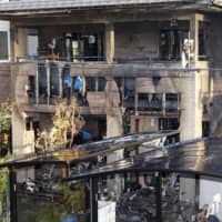 Six people, possibly all from the same family, died after a fire broke out at this residence in Sendai early Thursday morning. | KYODO
