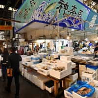 The Tsukiji market was famous for being one of the largest seafood and fish markets in the world. | YOSHIAKI MIURA