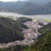 Hot spring heaven: Kinosaki Onsen as seen from the top of Mount Daishi. | DAVEY YOUNG