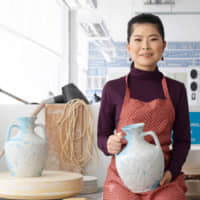 Hitomi Hosono: Seeing it all in blue and white