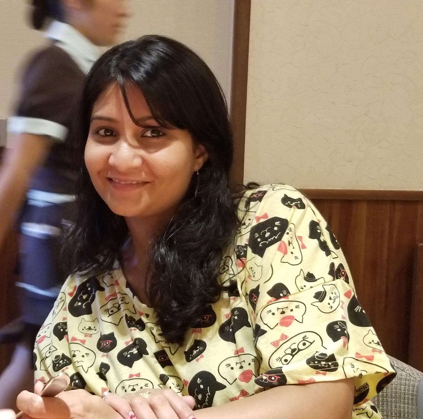 Nivedita Sharma had been a team leader at a bank in India but has had trouble finding work in her field of expertise in Japan due to language issues.