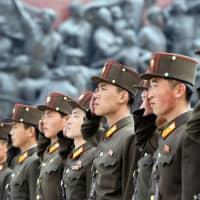 Military control: Former residents of Japan who defected from North Korea typically recall spending a torrid time on the peninsula following their voluntary repatriation. | KYODO