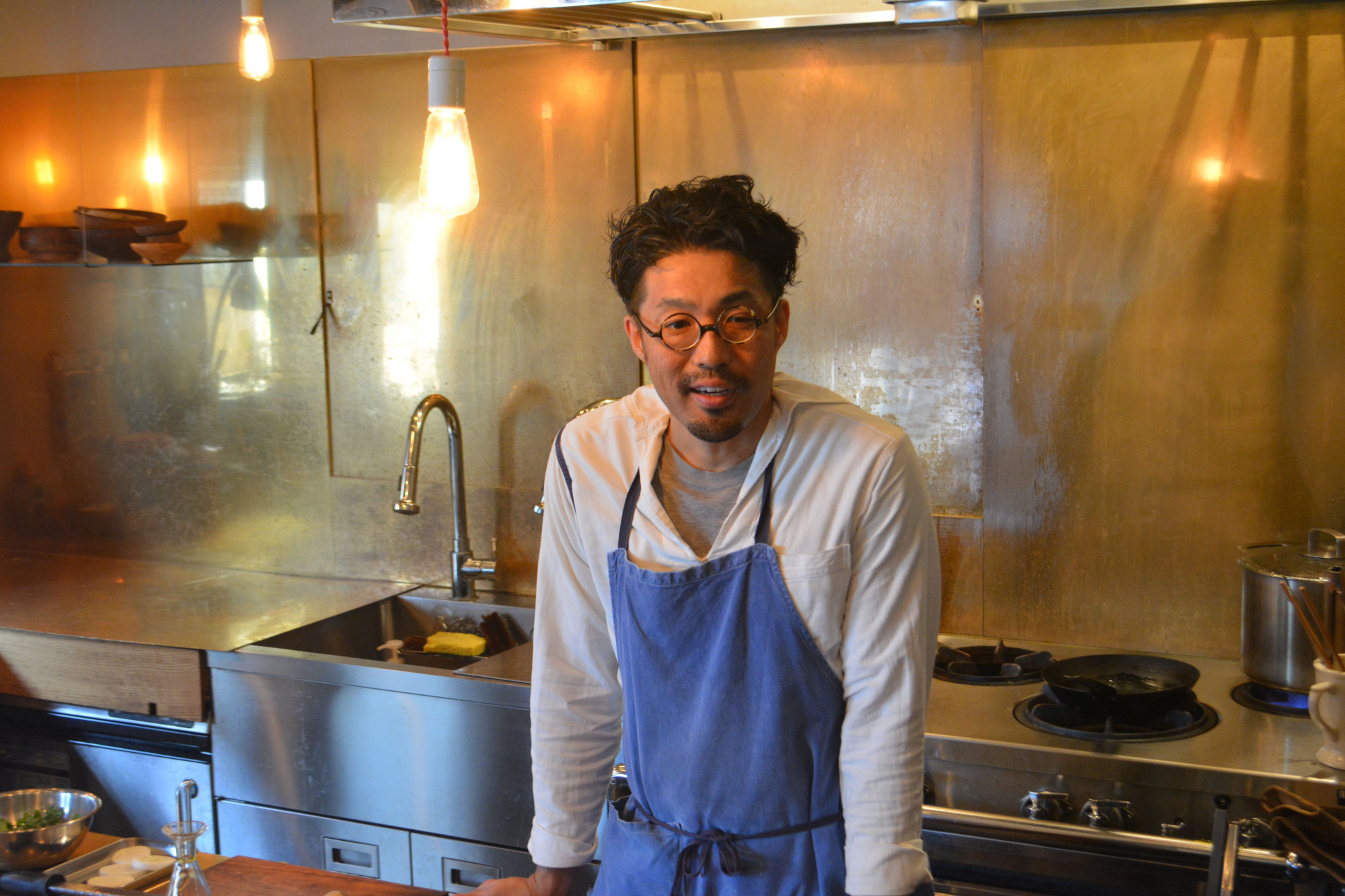 Born to be a chef: Kei Yoshioka knew from university that he wanted to open a restaurant, and his parents and siblings are all in the food business. | J.J. O'DONOGHUE
