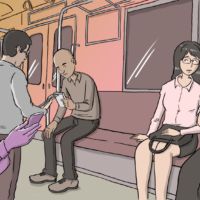 The more things change: Ten years ago, Baye McNeil posted the first entry on his blog, Loco in Yokohama. It was titled 'An empty seat on a crowded train.' | ADAM PASION