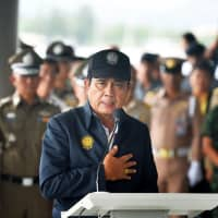 Thai Prime Minister Prayuth Chan-ocha pledges to make all-out efforts in search and rescue operations after two boats carrying 127 Chinese tourists capsized in Phuket on July 9. | CDSB — IMAGINECHINA