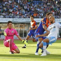 Jubilo escapes Nagasaki with a point to climb out of drop zone