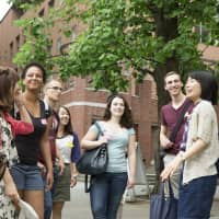 Students have many opportunities for international exchange on campus. | RIKKYO UNIVERSITY