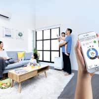 With D'SmartHome system, electronic appliances can be connected to communicate with each other as well as with you. | DAIKIN SINGAPORE