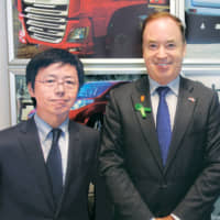 Eric Van Vliet, CEO and President of the Board and Toru Tanigami, Board Member of Hitachi Capital Polska | HITACHI CAPITAL POLSKA