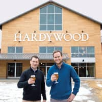 (L-R) Hardywood co-founders Eric McKay and Patrick Murtaugh | HARDYWOOD BREWERY