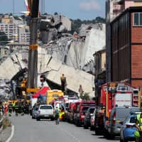 Bridge collapse costs Genoa companies €422 million in damages: Chamber of Commerce