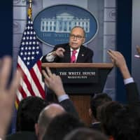 Trump 'very cross' with GM boss over layoffs, Larry Kudlow says