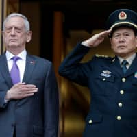 U.S. defense chief works to keep rising Sino-American tensions from boiling over