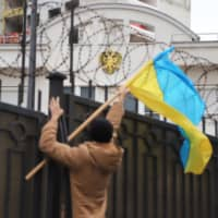 Russia ignores Western calls to free captured Ukrainian ships