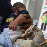 WHO reports worrying increase of measles cases in 2017 as parents shun vaccinations