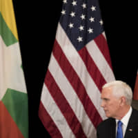Pence tells Suu Kyi violence against Rohingya 'is without excuse'