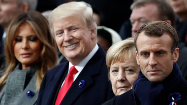 'Old demons': Trump-style nationalism draws fire at WWI commemorations in Paris