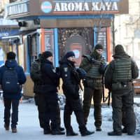 Ukraine bans Russian men from entry in martial law crackdown